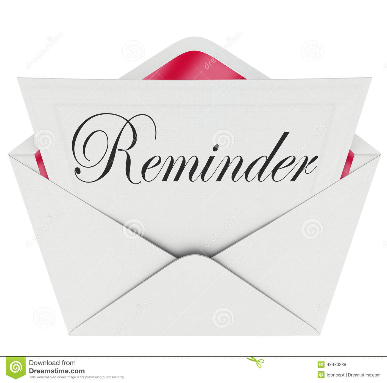 Reminder Word Note Message Remember Important Appointment