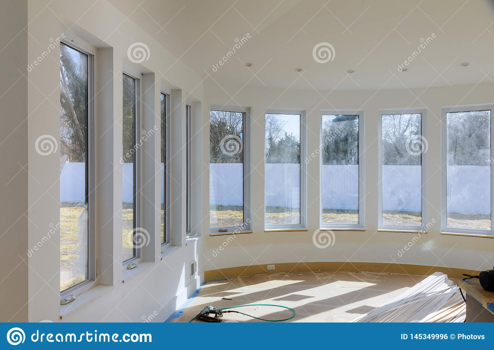 Процесс для нижних конструкции, remodeling, реновации, расширения, восстановления и реконструкции