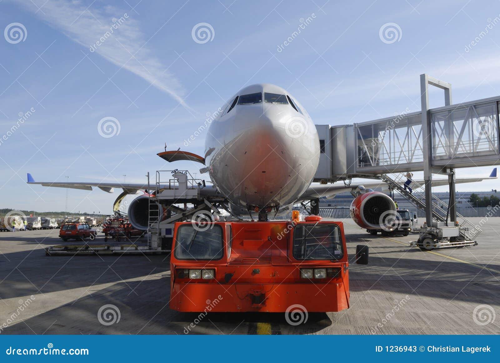 Remorquage d avion