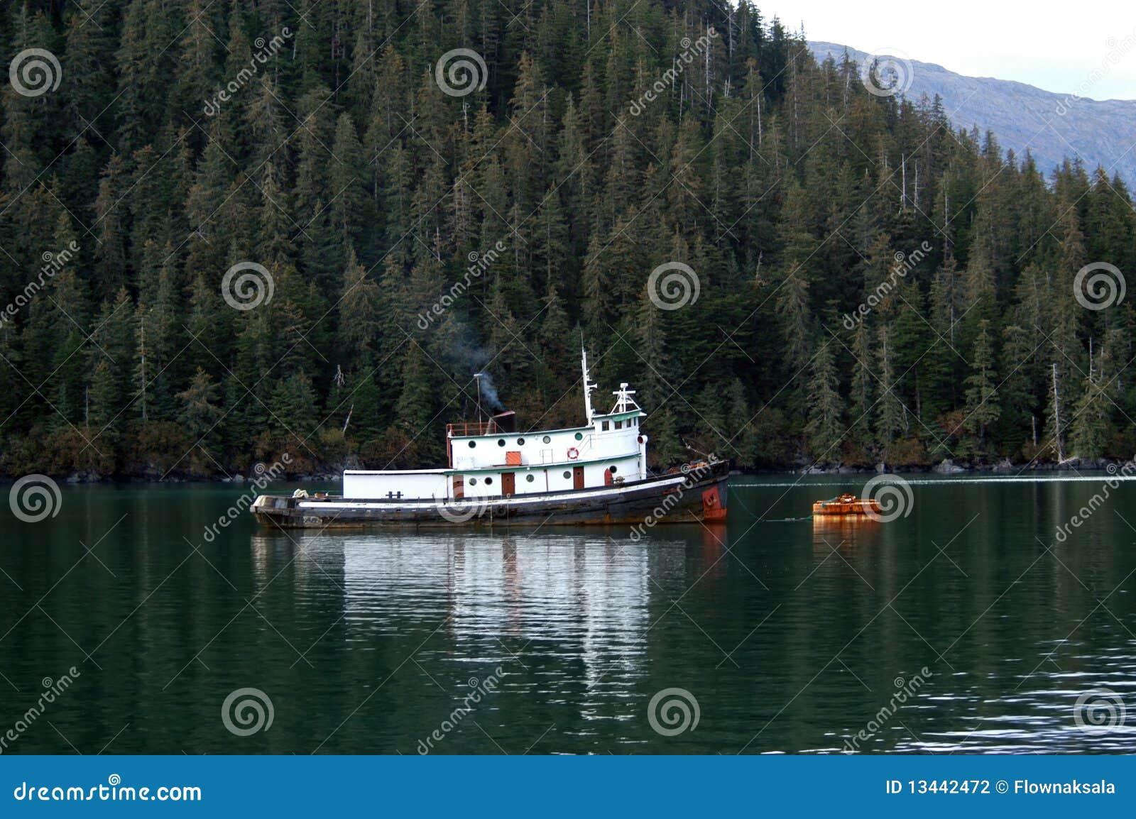 Remorqueur en Alaska