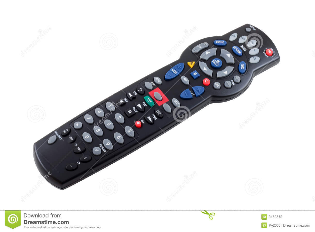 Remote Control Royalty Free Stock Photos - Image: 8168578