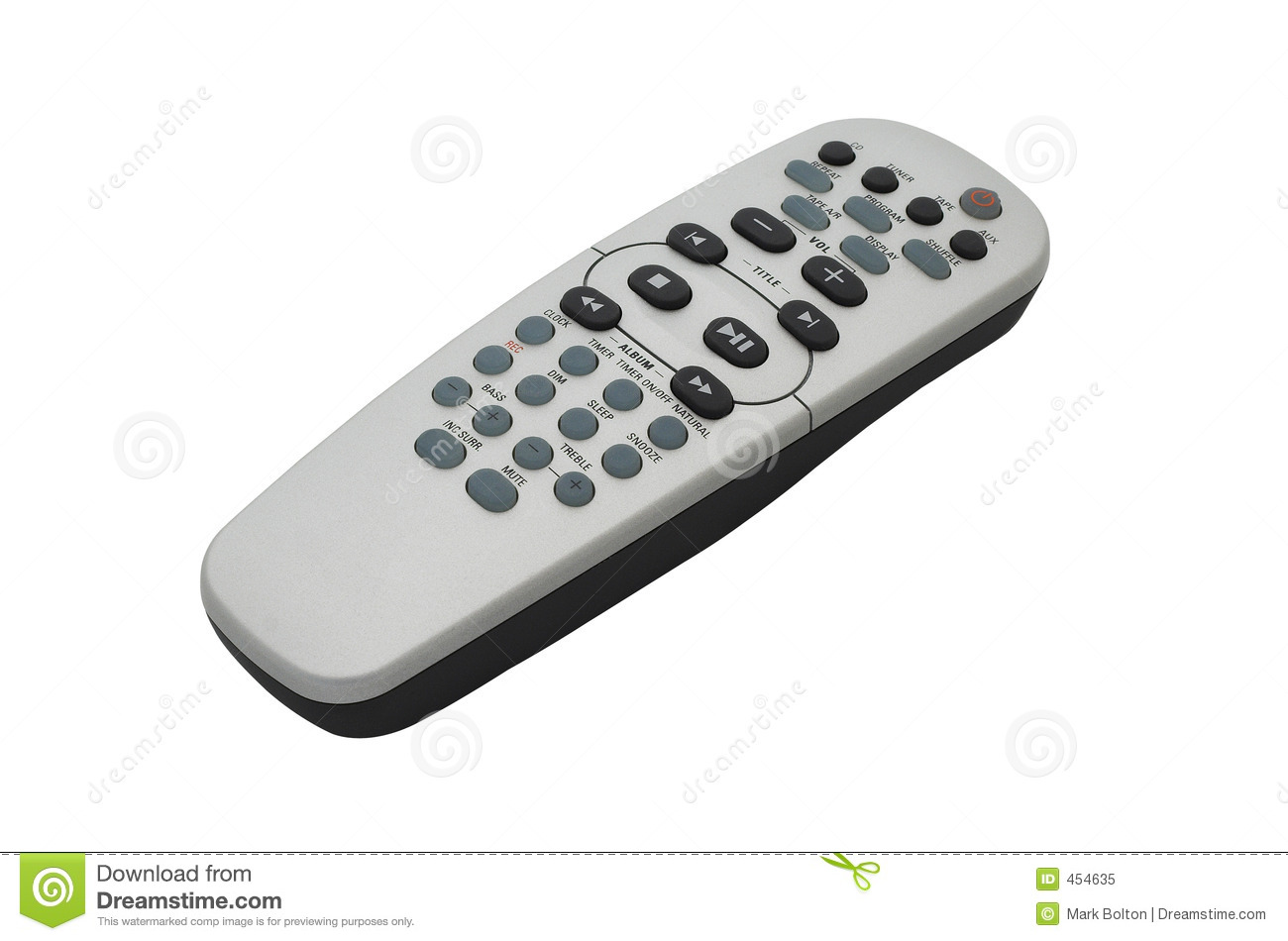 Download Remote Control. With Clipping Path. Stock Image - Image of communicate, text: 454635