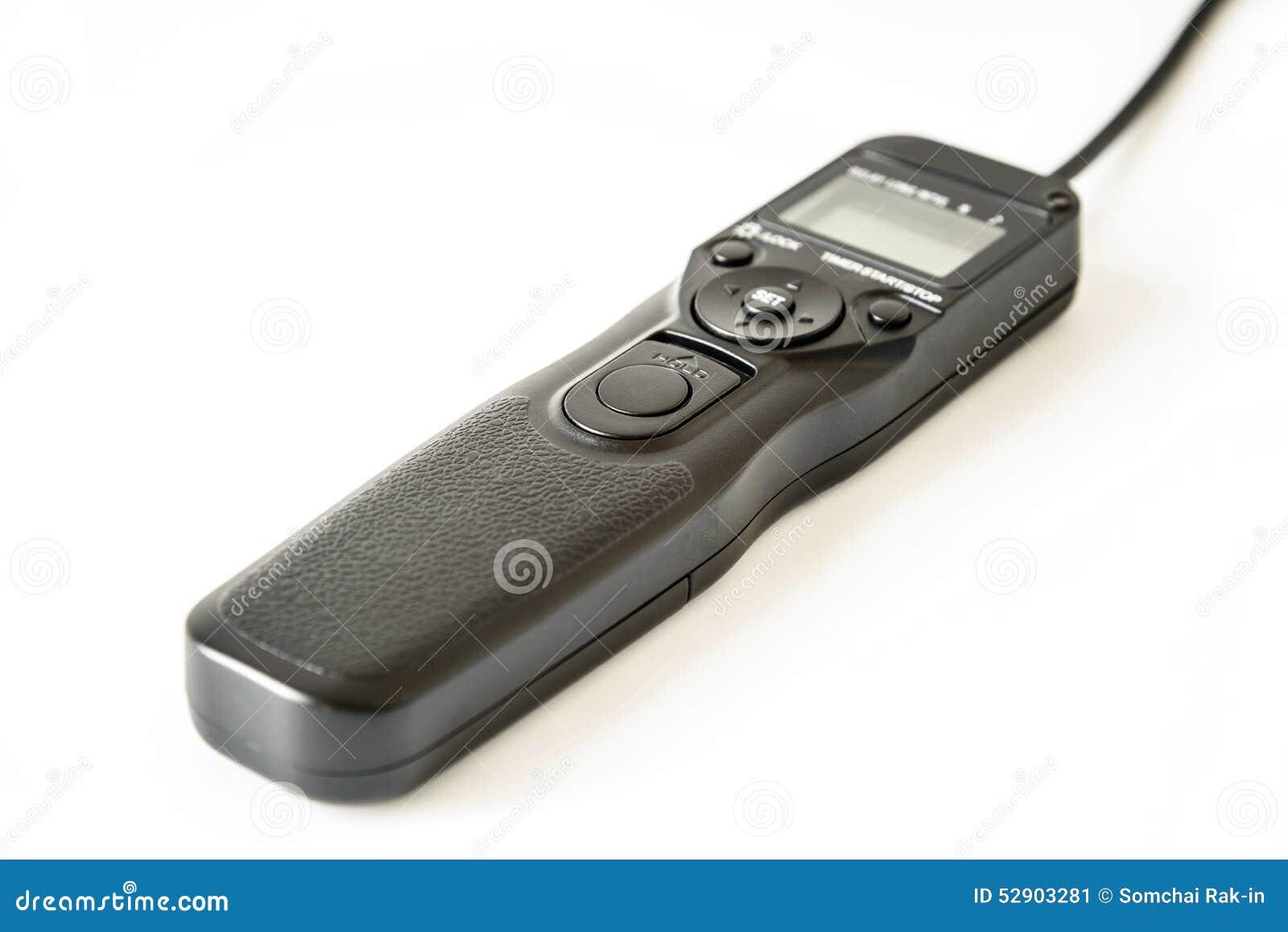 Camera Remote Control Dslr Camera remote control shutter switch of dslr camera stock photo image camera