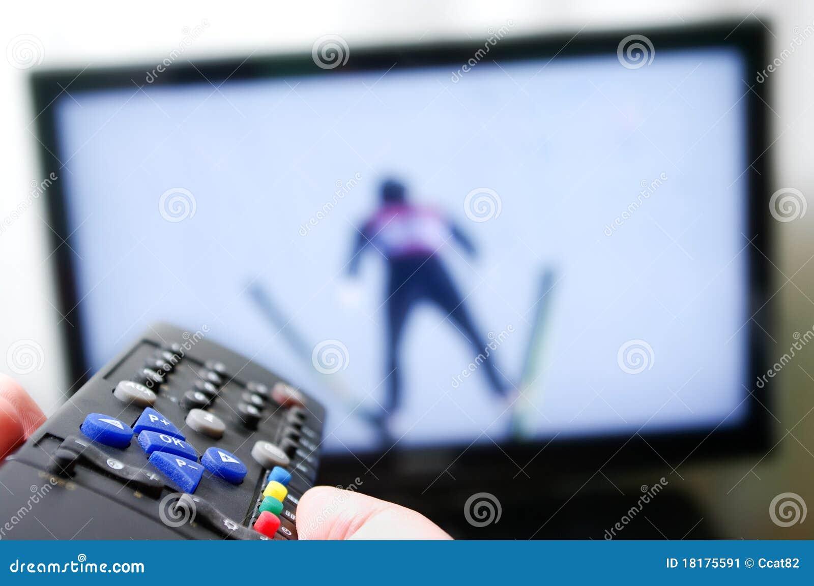 Remote control - ski jumping