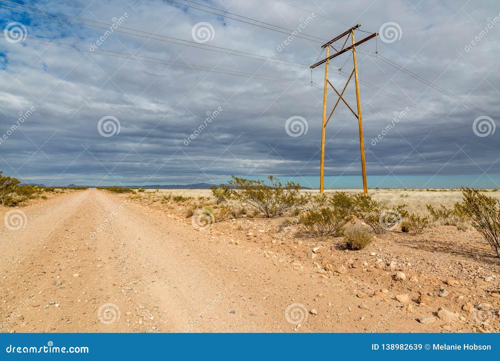 A Remote New Mexico Landscape