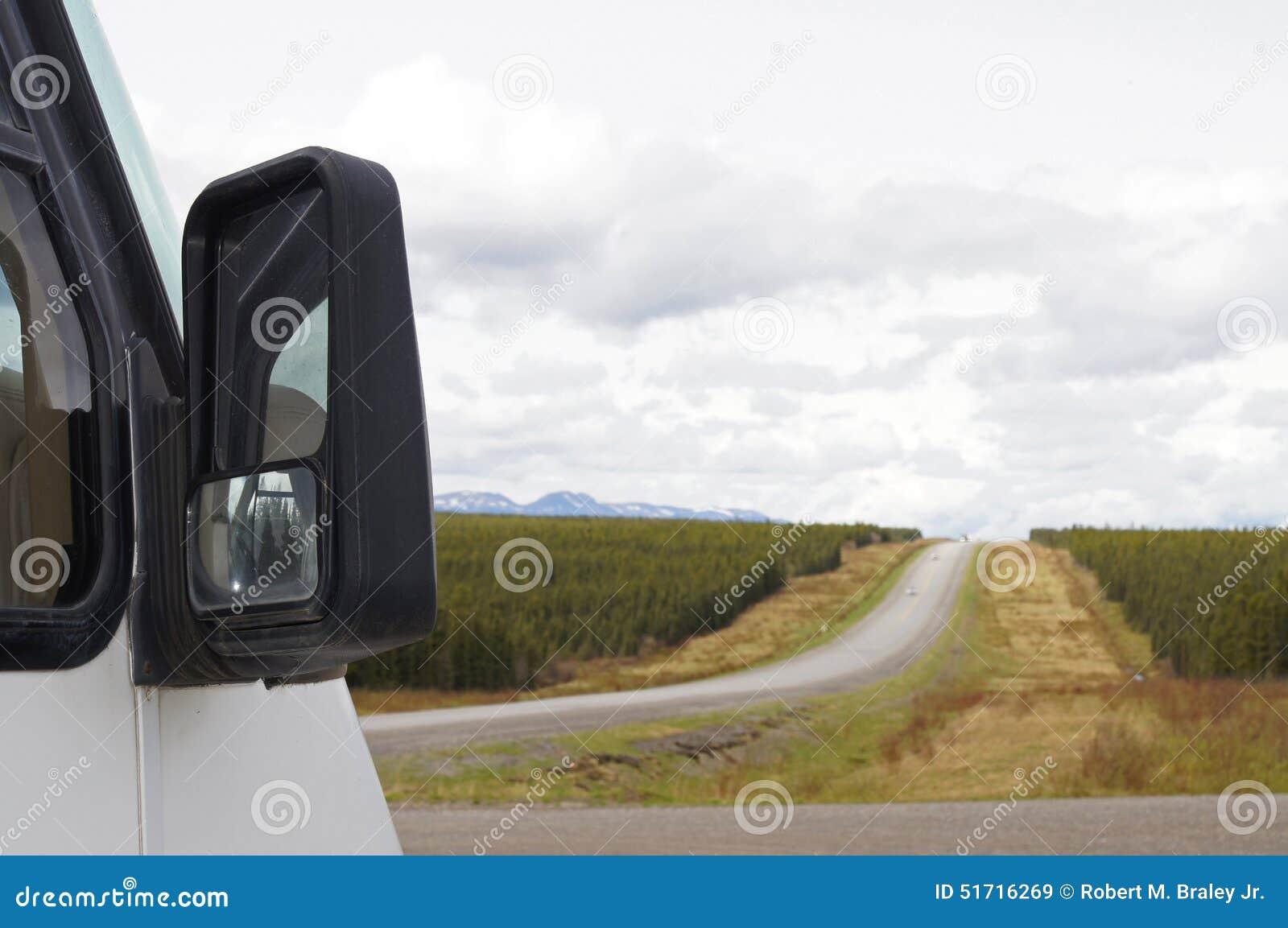 Download Remote Road Alaska Highway Canada Stock Image - Image of columbia, asphalt: 51716269