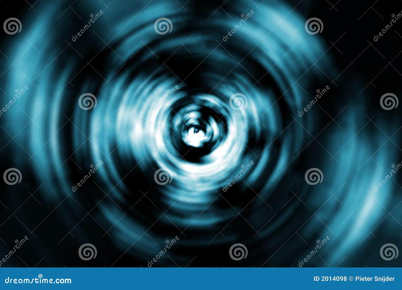 Remous abstrait autour d un oeil
