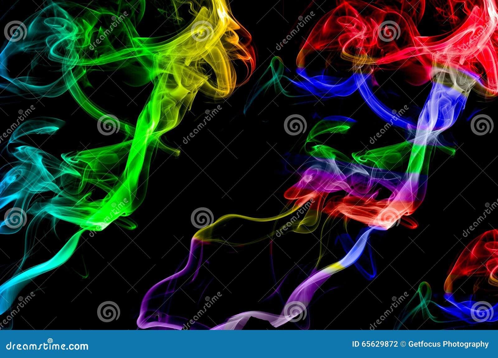 Remous de fumée