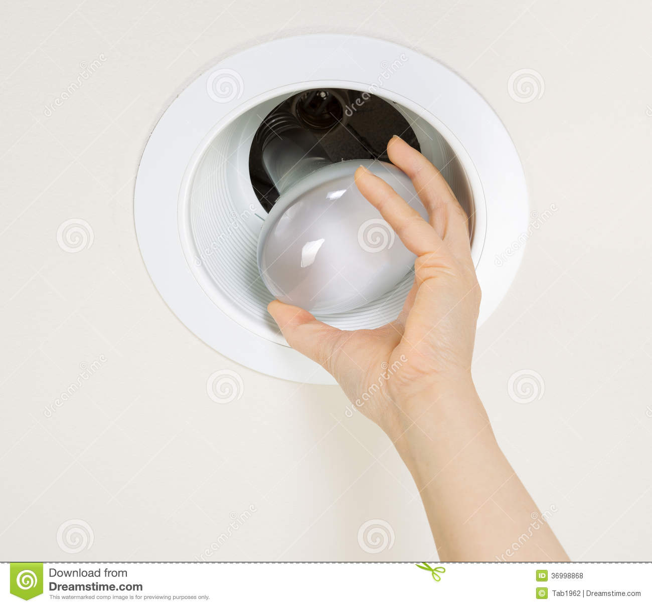 Removing old flood light bulb stock photo image of electrical removing old flood light bulb mozeypictures Gallery