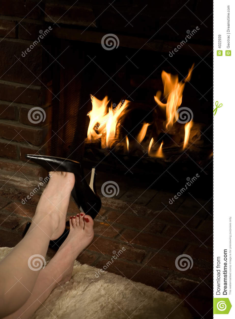 Removing shoes by fire