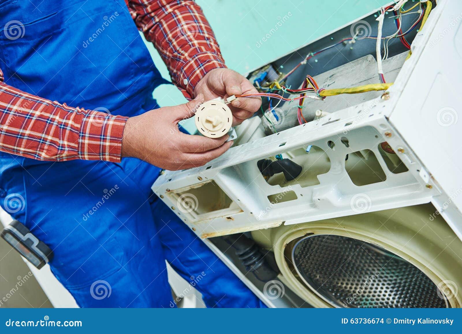 Remplacement de la sonde de pression de niveau d eau de la machine à laver