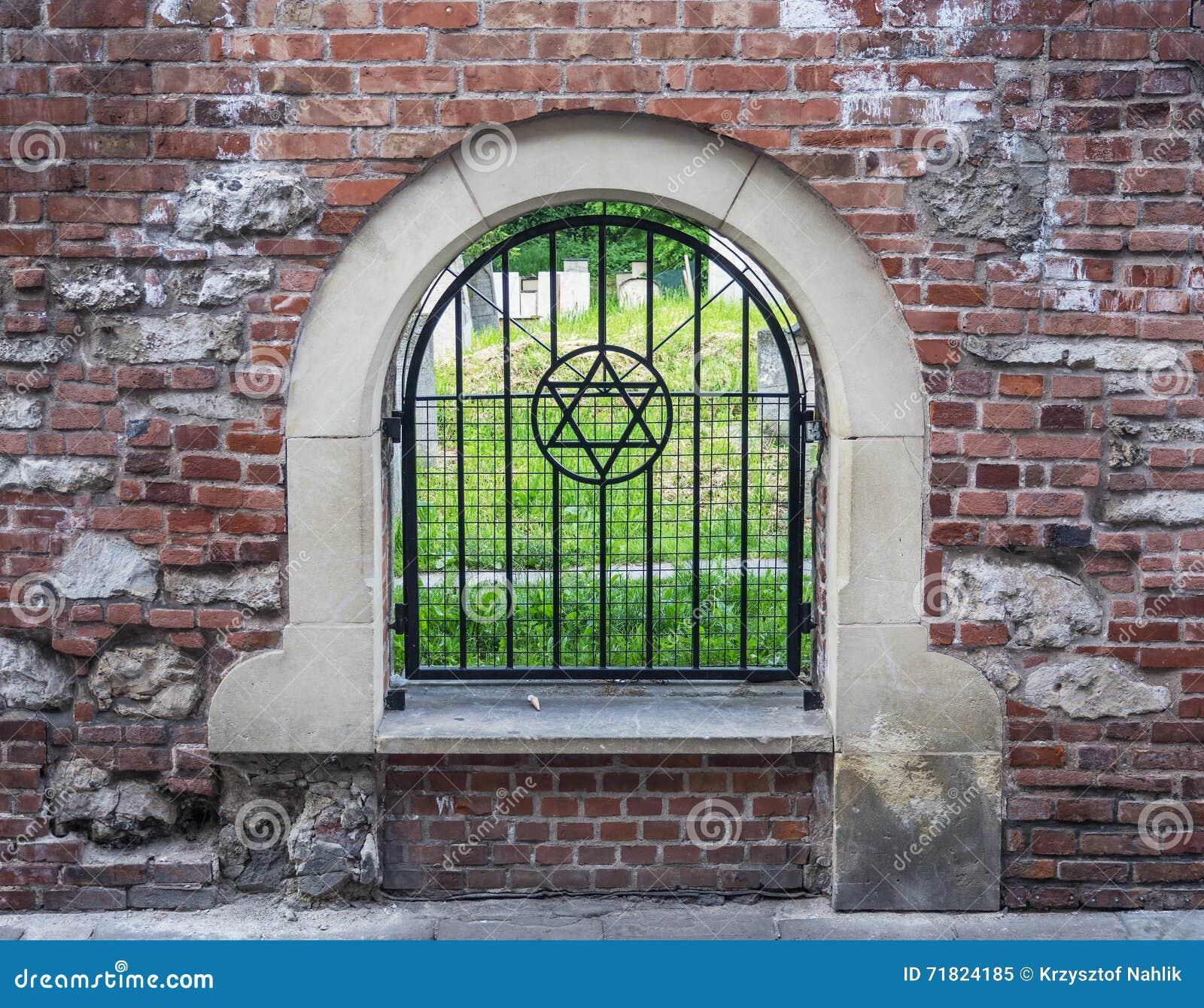 Remuh Joodse Begraafplaats in Krakau, Polen