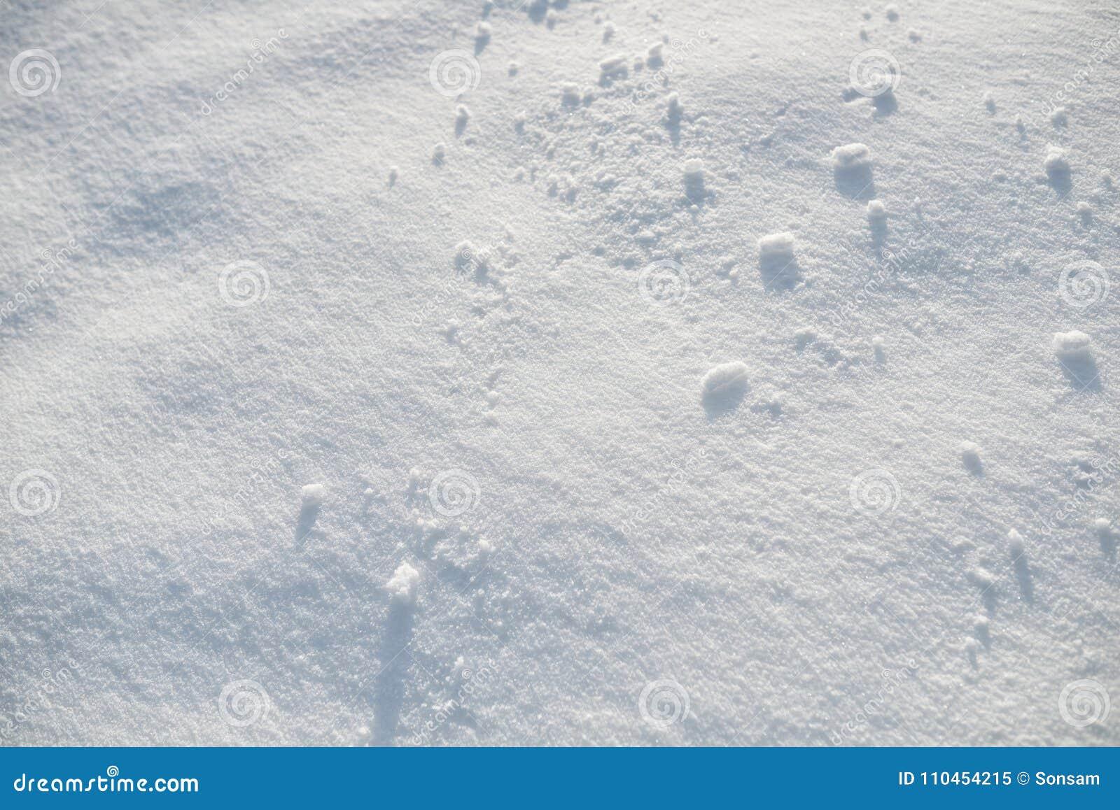 Ren snövit snöbakgrund