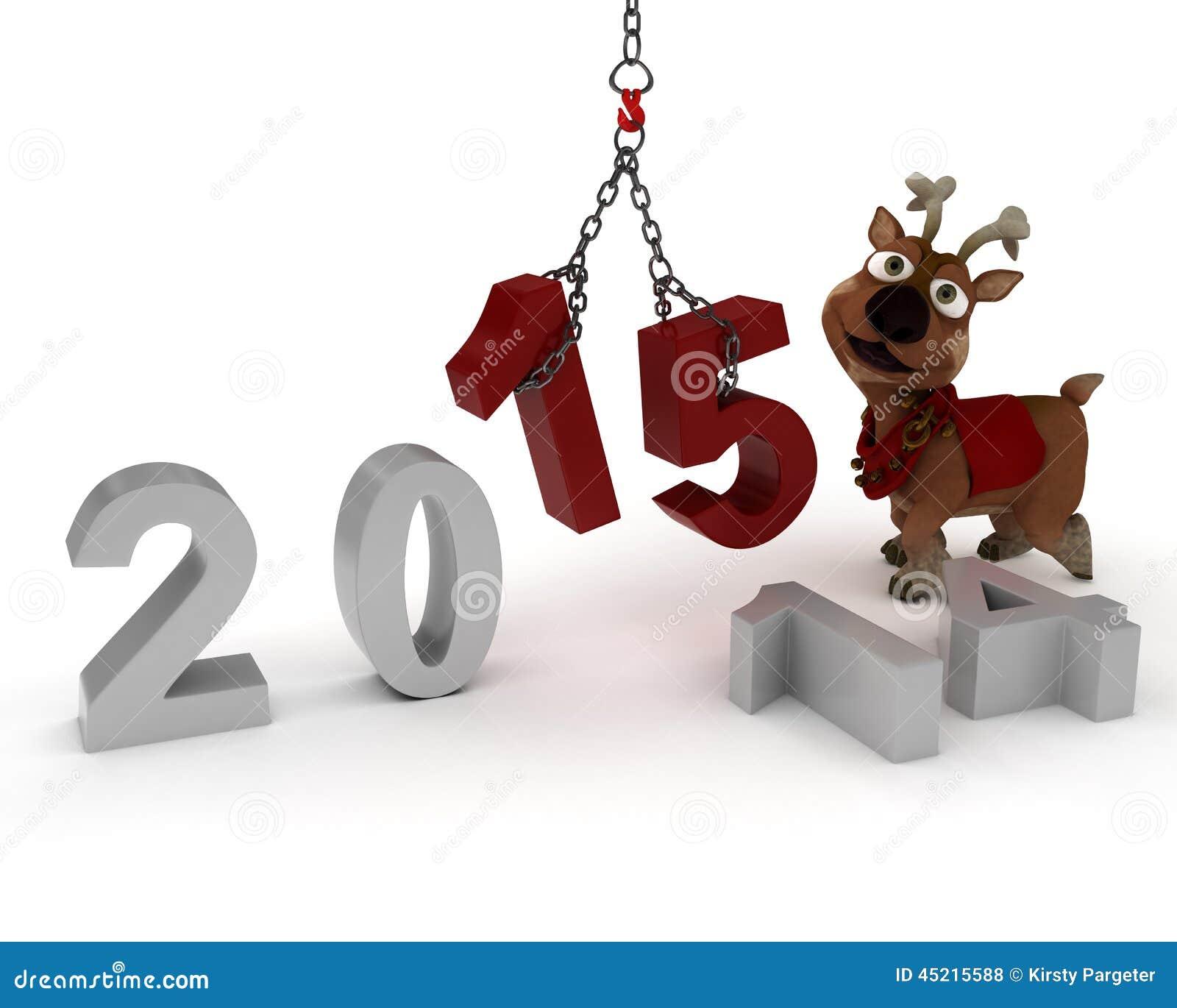 Ren som kommer med i det nya året