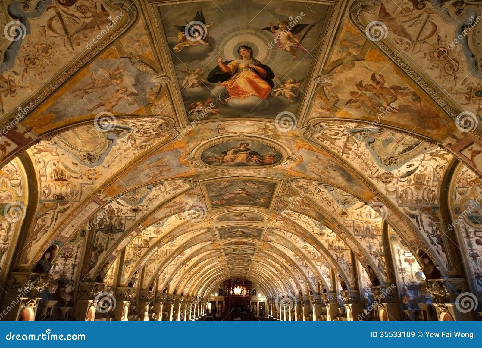 Renaissance Antiquarium Stockbild Bild Von Halle Renaissance