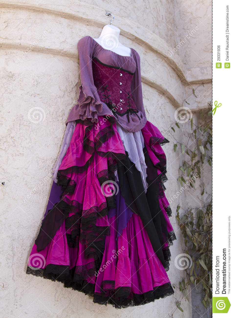 Renaissance Womens Dress Clothing Boutique Royalty Free Stock ...
