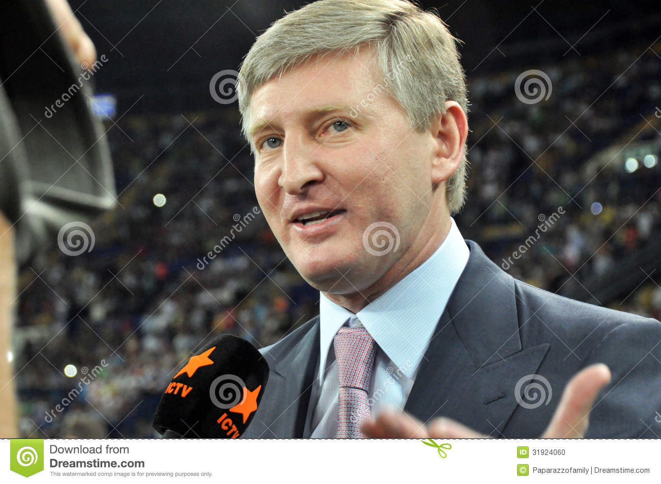 mr akhmetov Mr akhmetov built his business empire in the mid-nineties by forging ties with then prime minister viktor yanukovych he spent £245million to build the 50,000- seater donbas arena football stadium which will be used to host games for the 2012 european championships he is also noted for his charity.