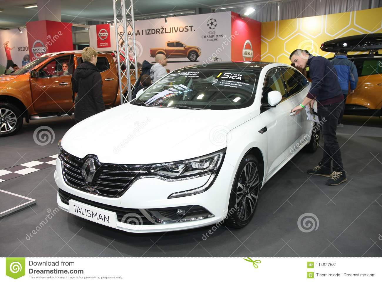 Renault au Car Show de Belgrade