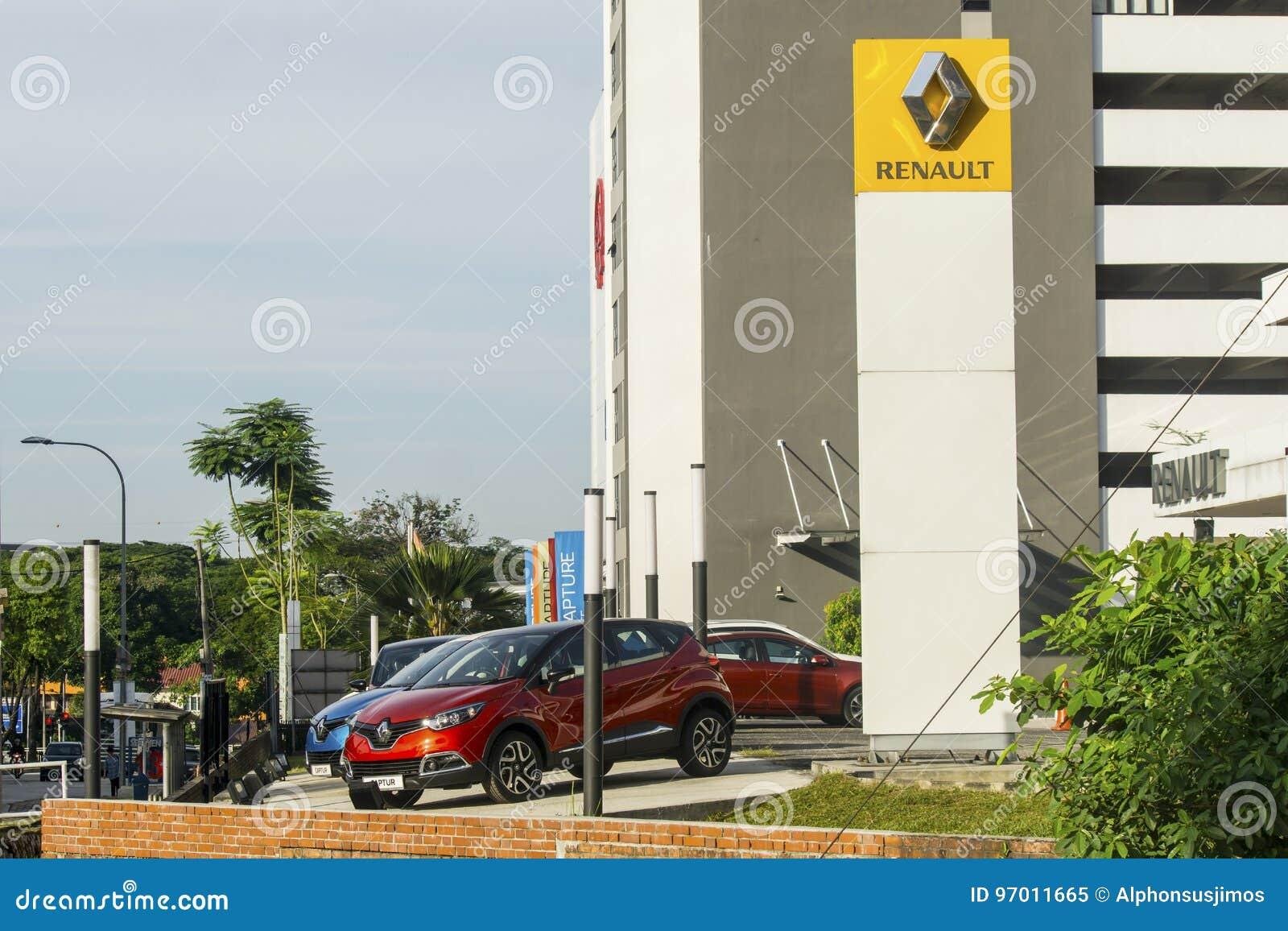 Renault bilvisningslokal