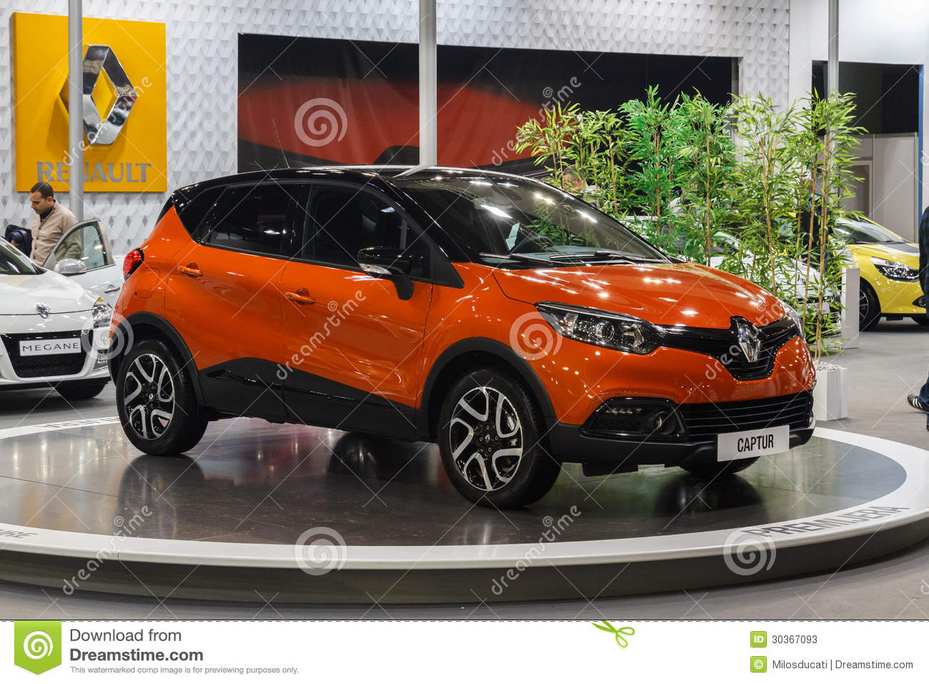 renault capture editorial stock photo image of captur. Black Bedroom Furniture Sets. Home Design Ideas