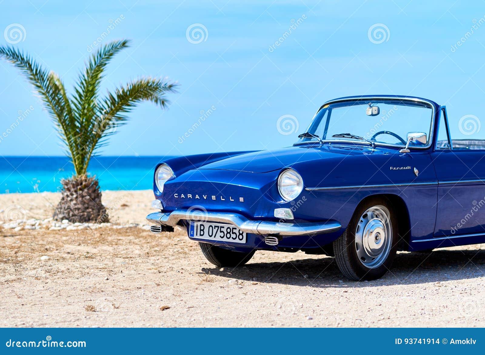 Renault Caravelle på stranden