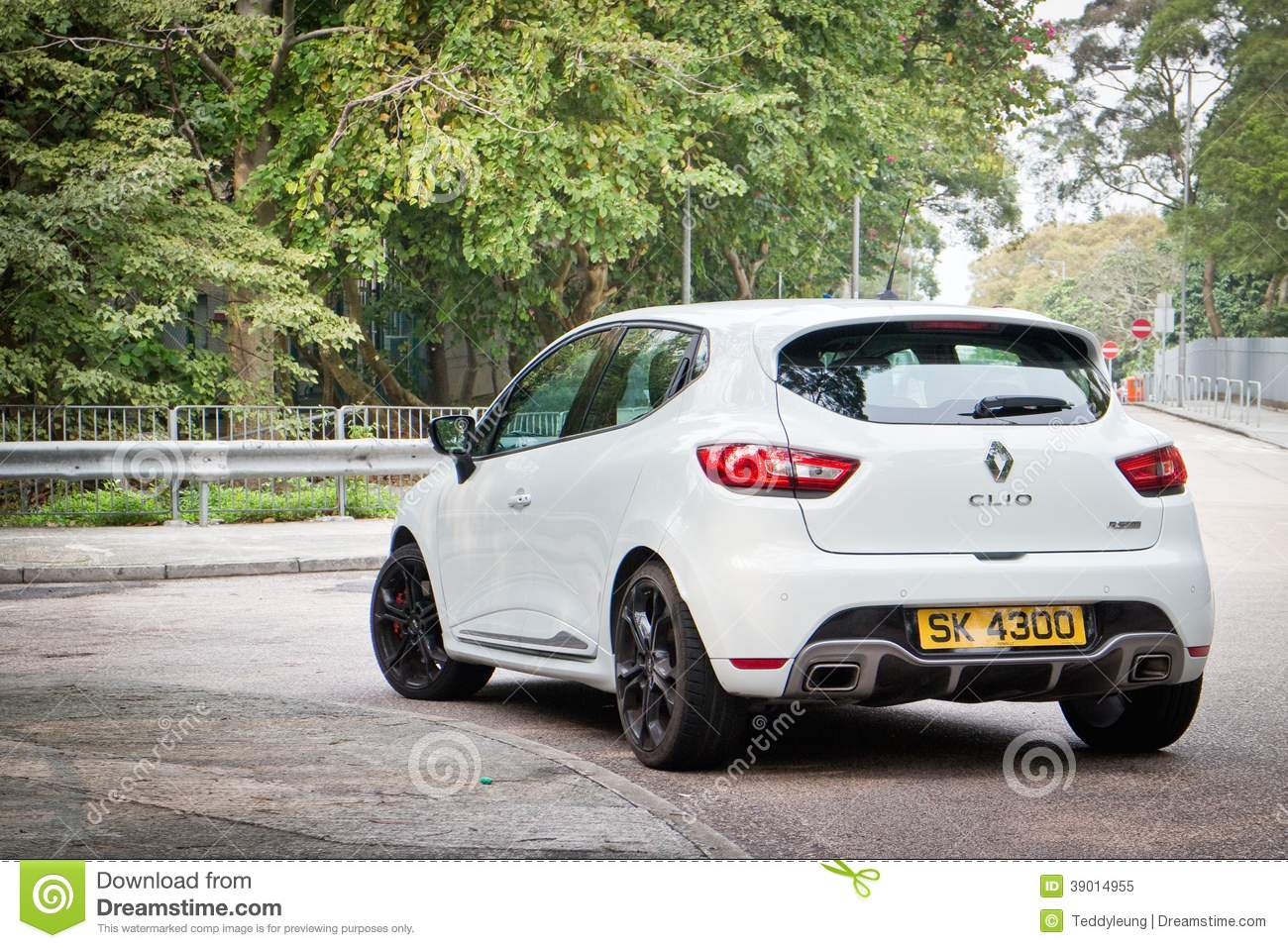 Renault Clio Rs Cup 2014 Editorial Image Image Of Race 39014955