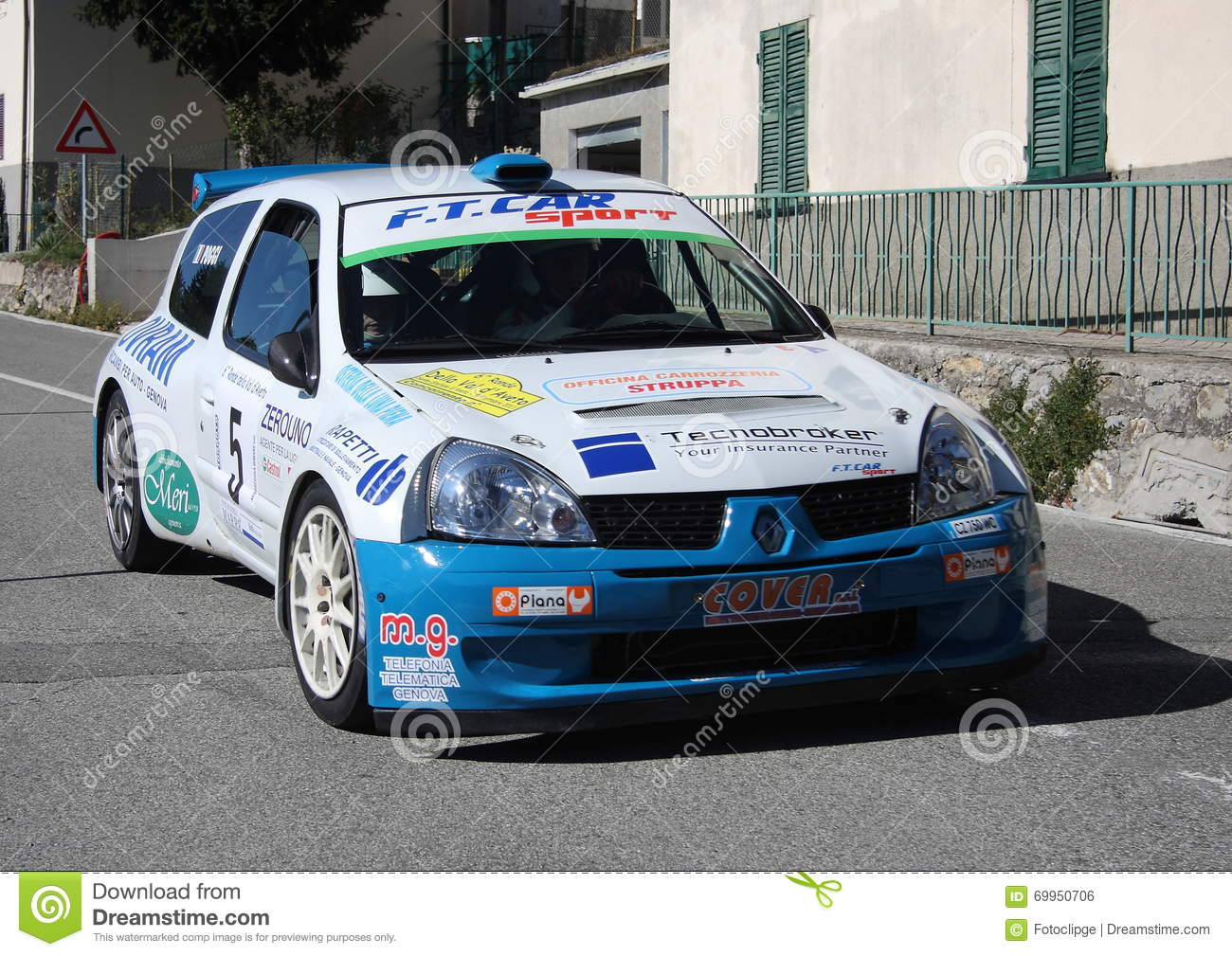 renault clio super 1600 rally car editorial photo image 69950706. Black Bedroom Furniture Sets. Home Design Ideas
