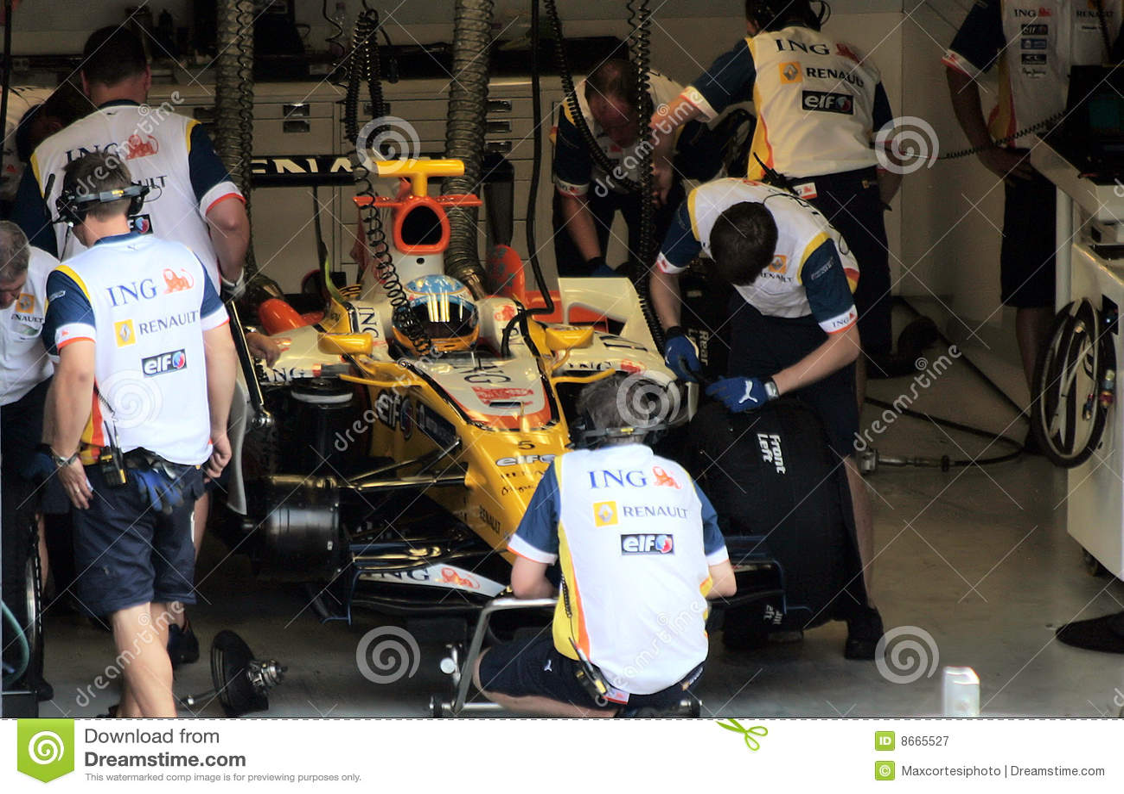Renault F1 Monza 2008