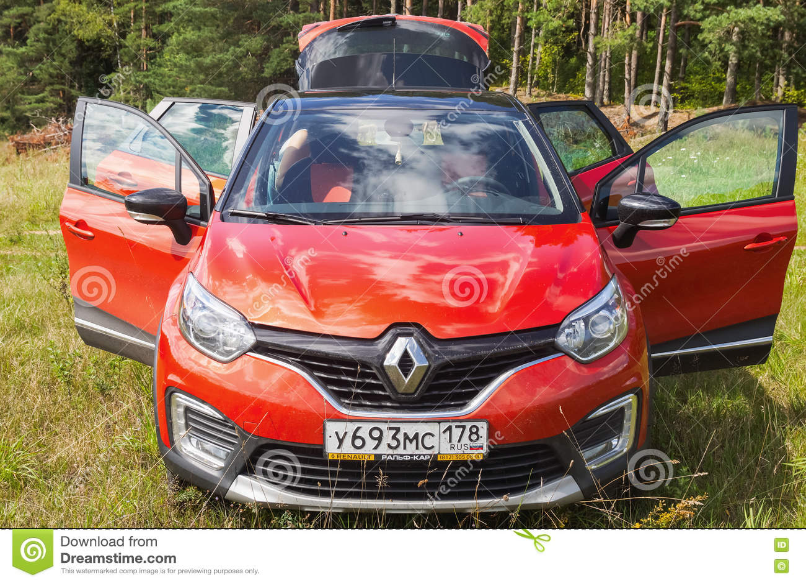 Renault Kaptur främre sikt