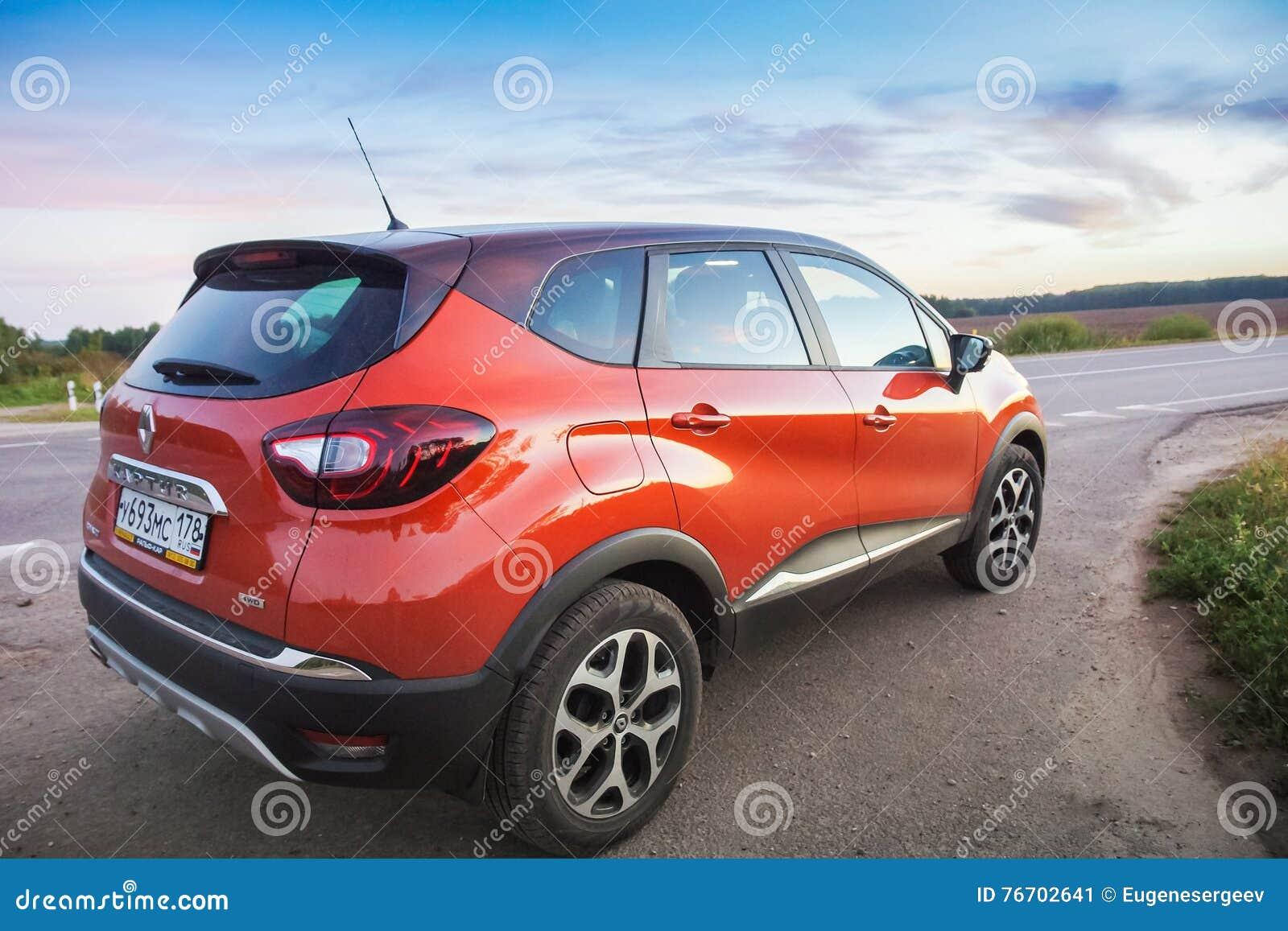 Renault Kaptur på huvudvägen