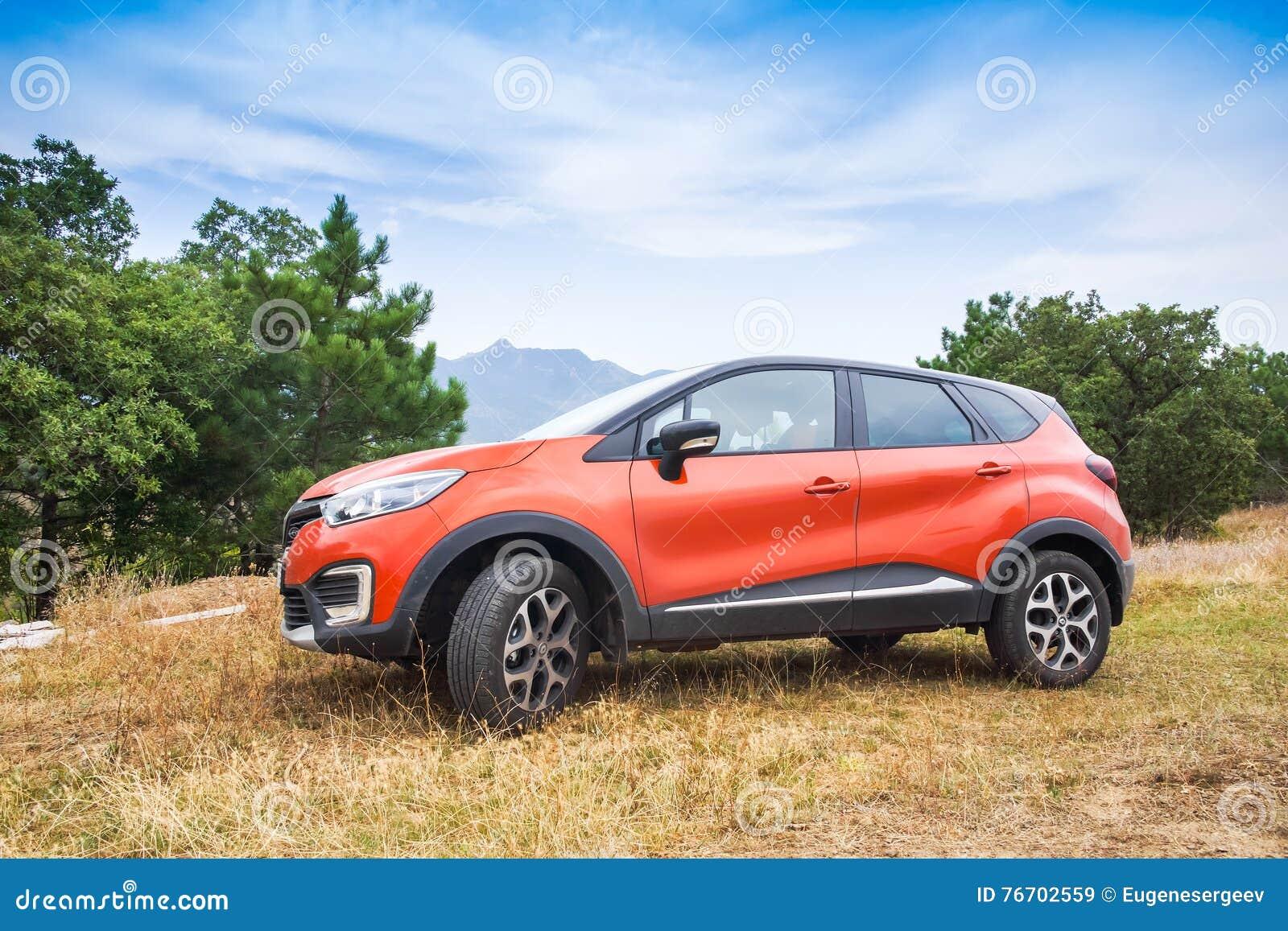 Renault Kaptur utomhus- foto
