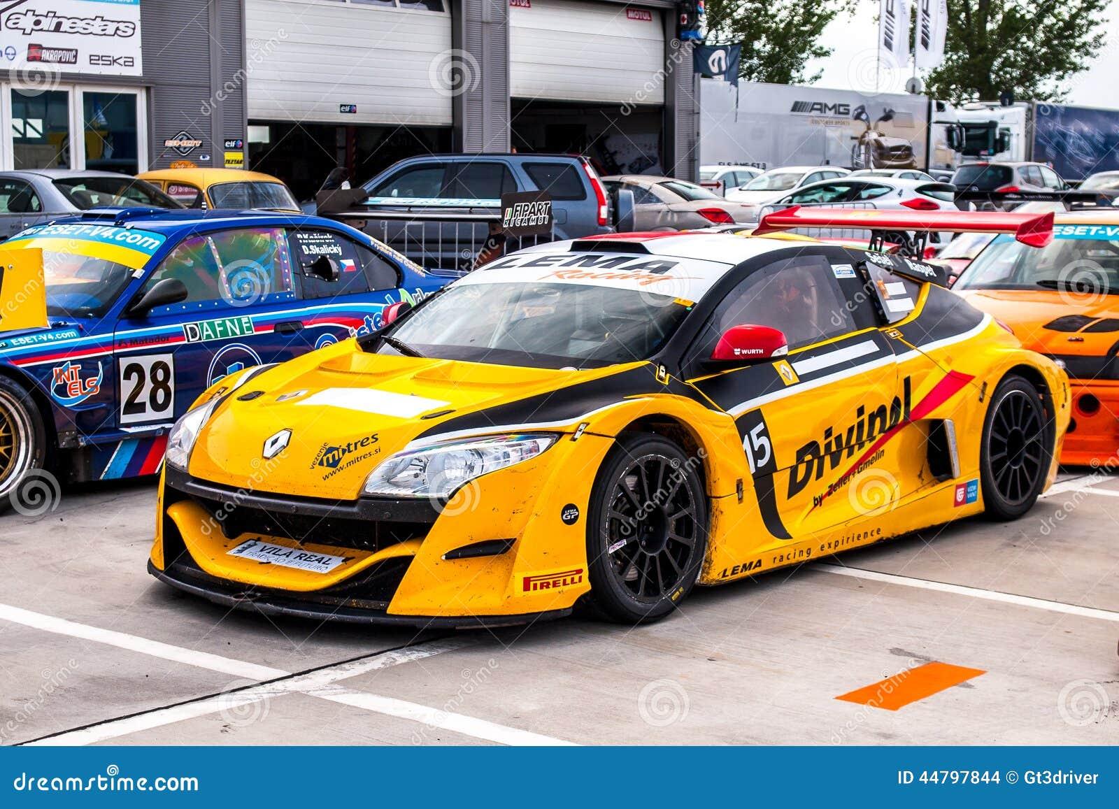 Race Car Trophy >> Renault Megane Trophy Editorial Stock Image - Image: 44797844