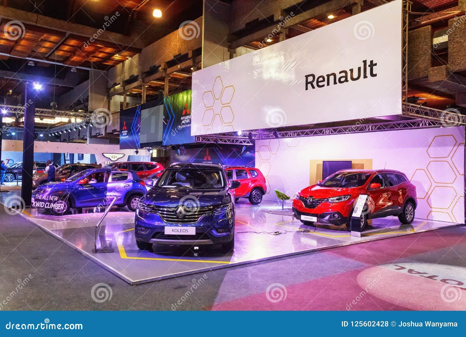 Exhibition Stand Design Kenya : Renault stand editorial stock photo. image of kenya 125602428