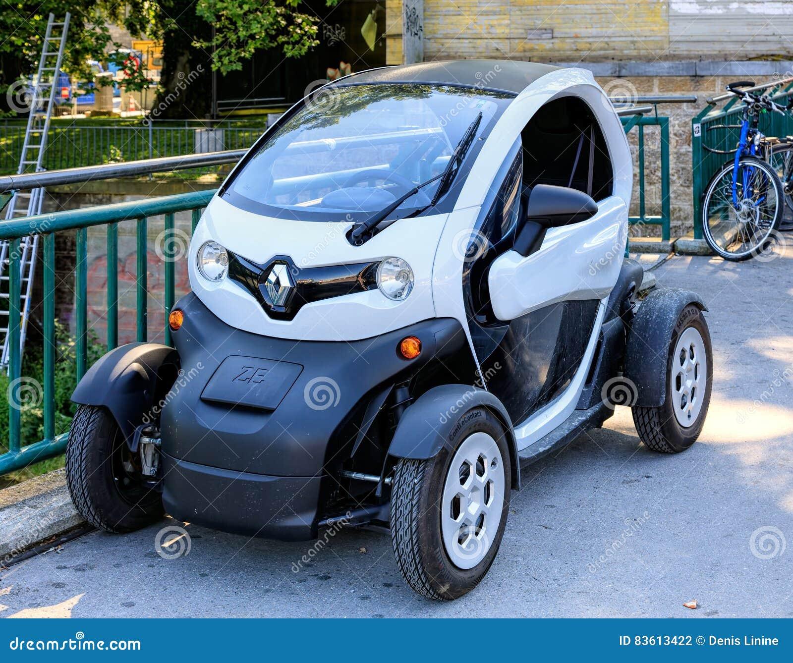 Renault Twizy Elektroauto In Zürich Die Schweiz Redaktionelles