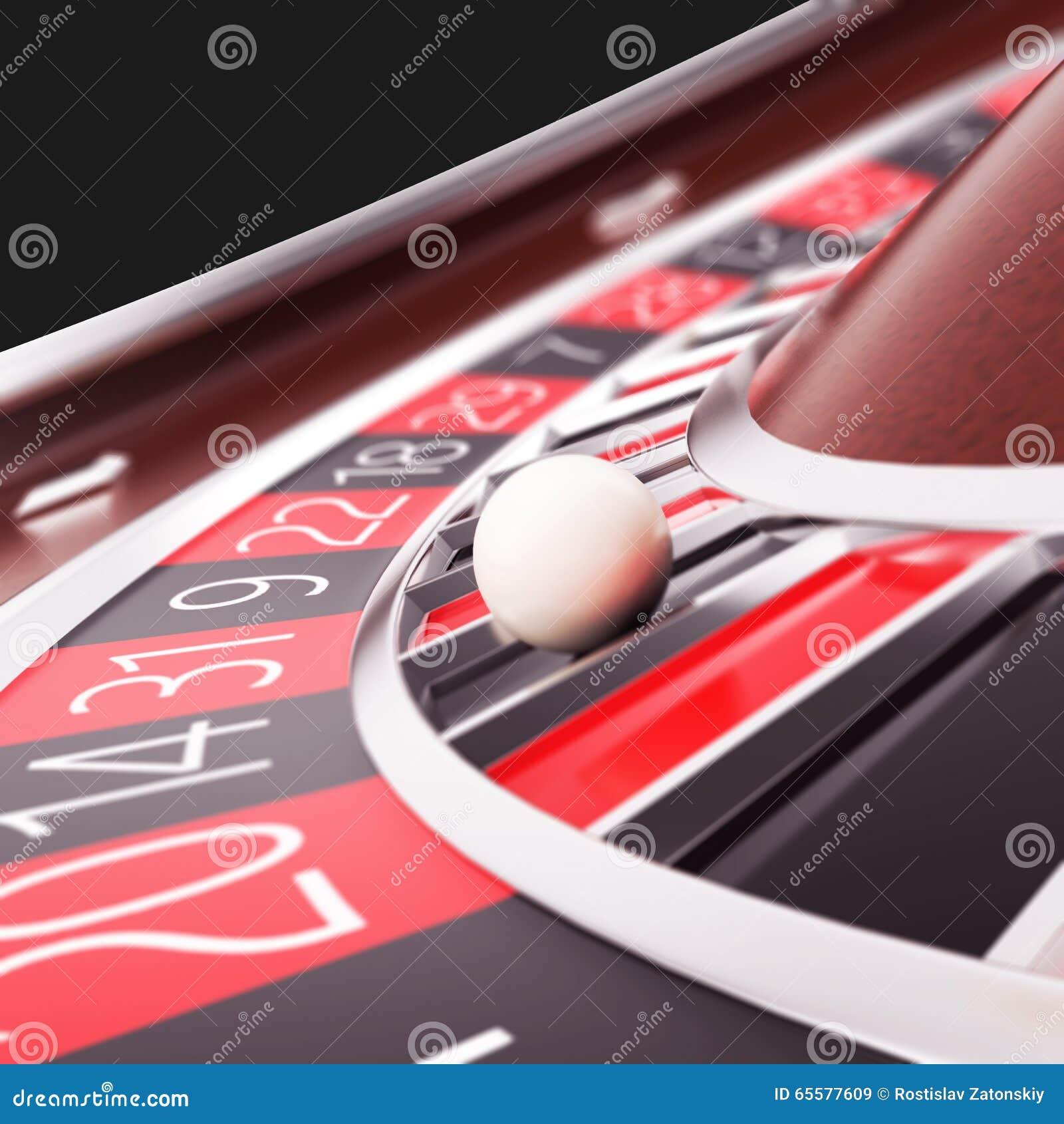 Renda o fim da roleta do casino acima