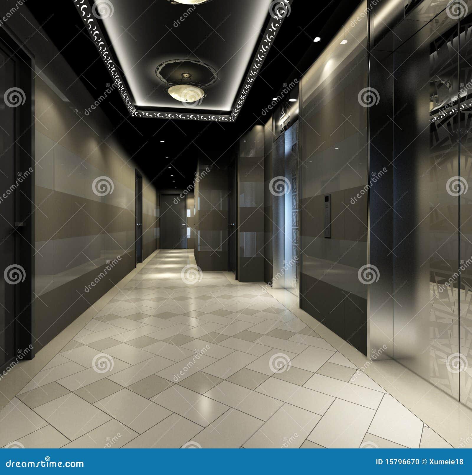 Rendendo o corredor moderno