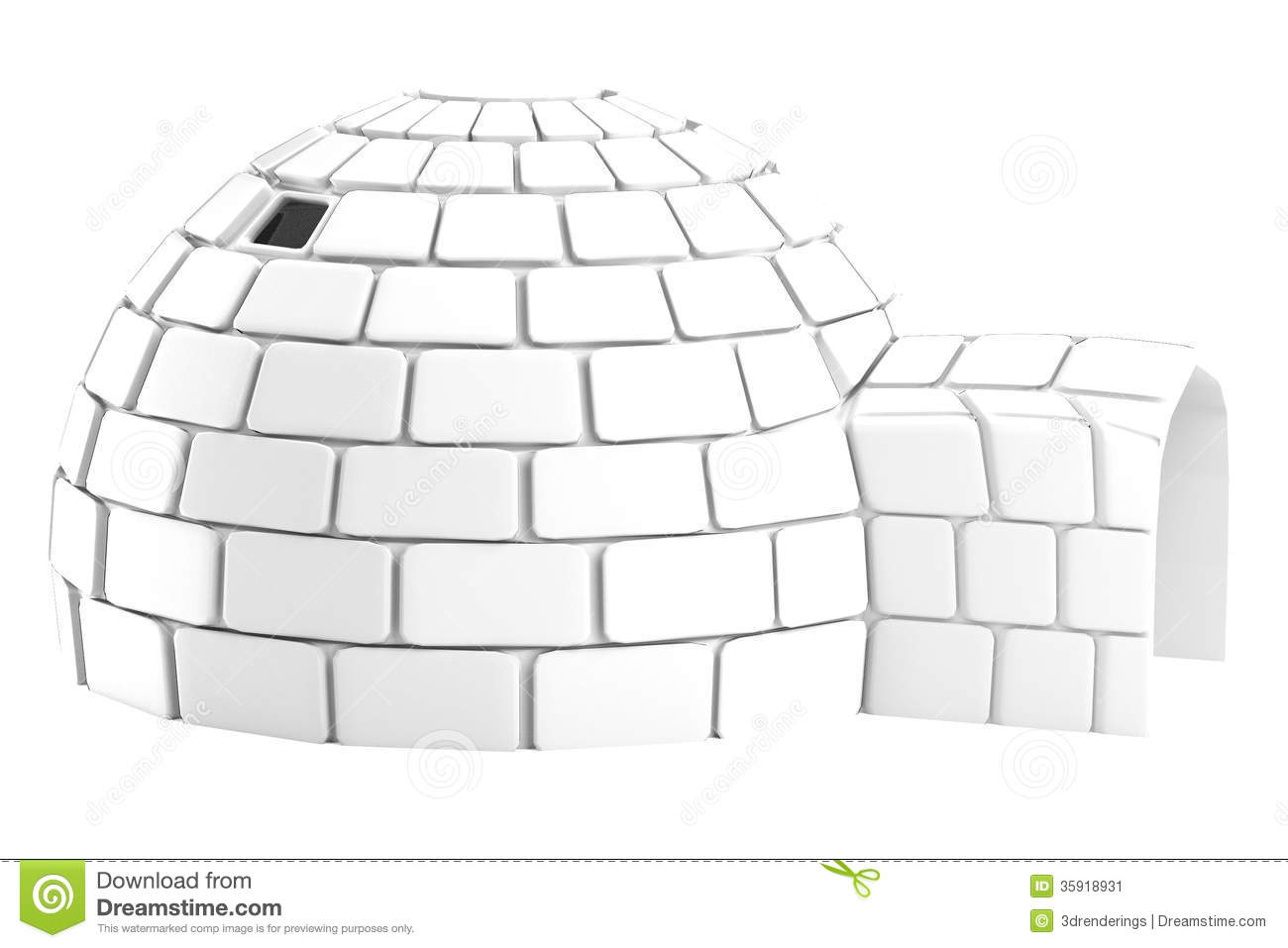 Render of igloo stock illustration illustration of igloo 35918931 royalty free stock photo pooptronica
