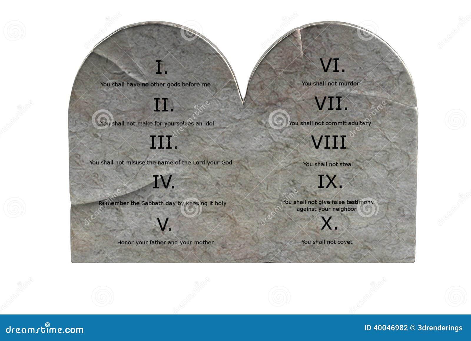 Rendez de dix commandements