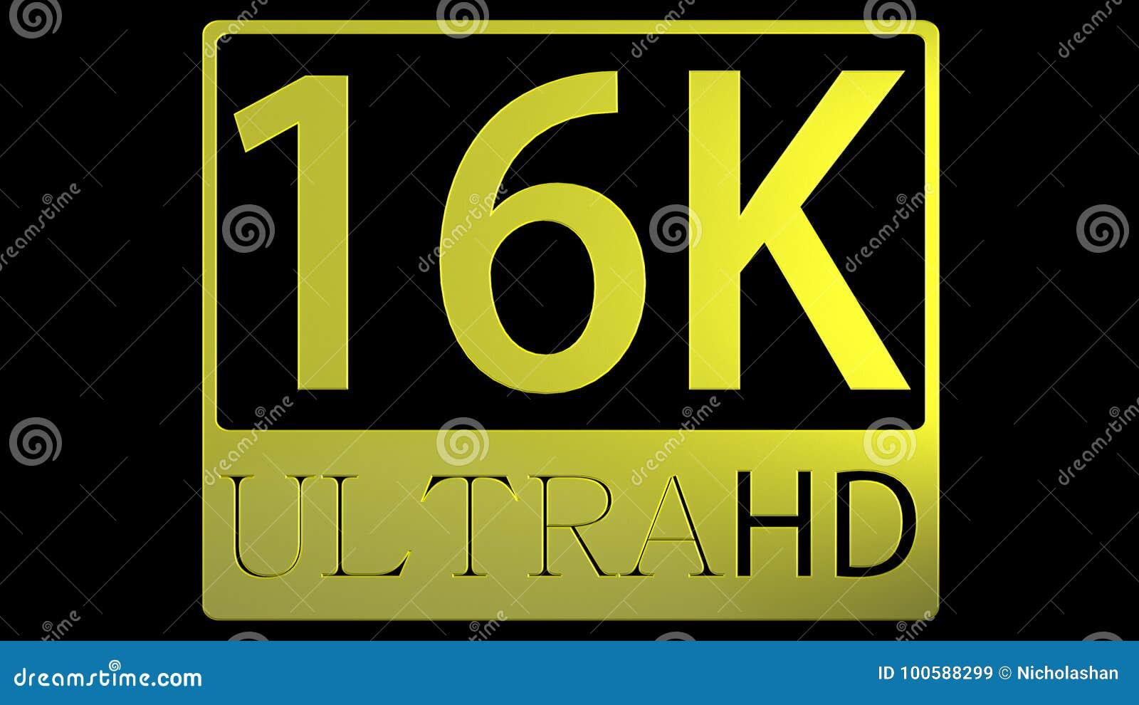 Rendição 3d da ideia agradável ultra da imagem de HD 16K