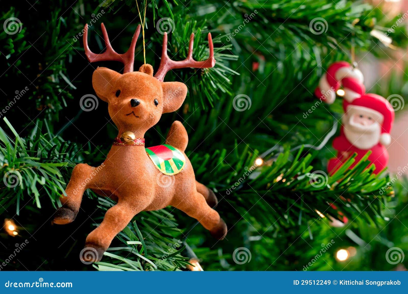 Rendier en de Kerstman