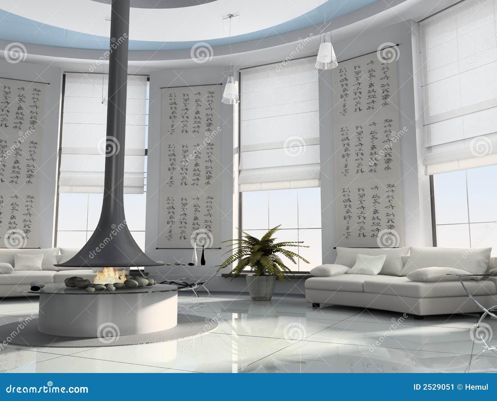 Rendu à la maison de l intérieur 3D