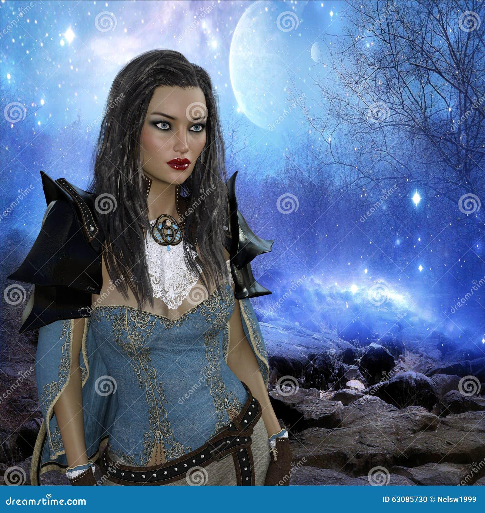 Download Rendu 3D De Femme à L'arrière-plan D'imagination Illustration Stock - Illustration du imagination, cheveu: 63085730