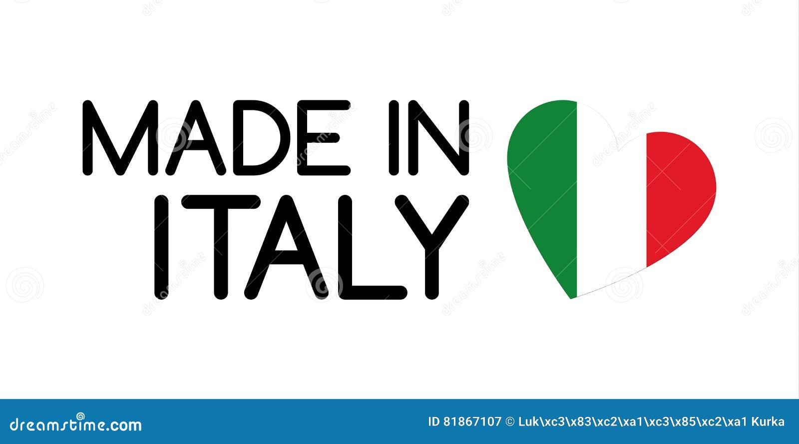 Super Fait Dans Le Symbole De L'Italie Photographie stock - Image: 33573172 CB45