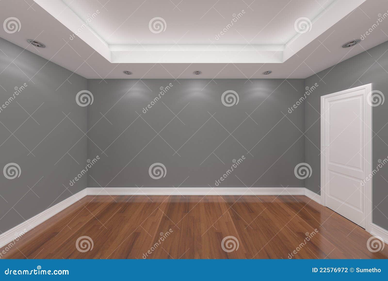 Rendu int rieur la maison avec le mur vide de couleur de for Le vide interieur