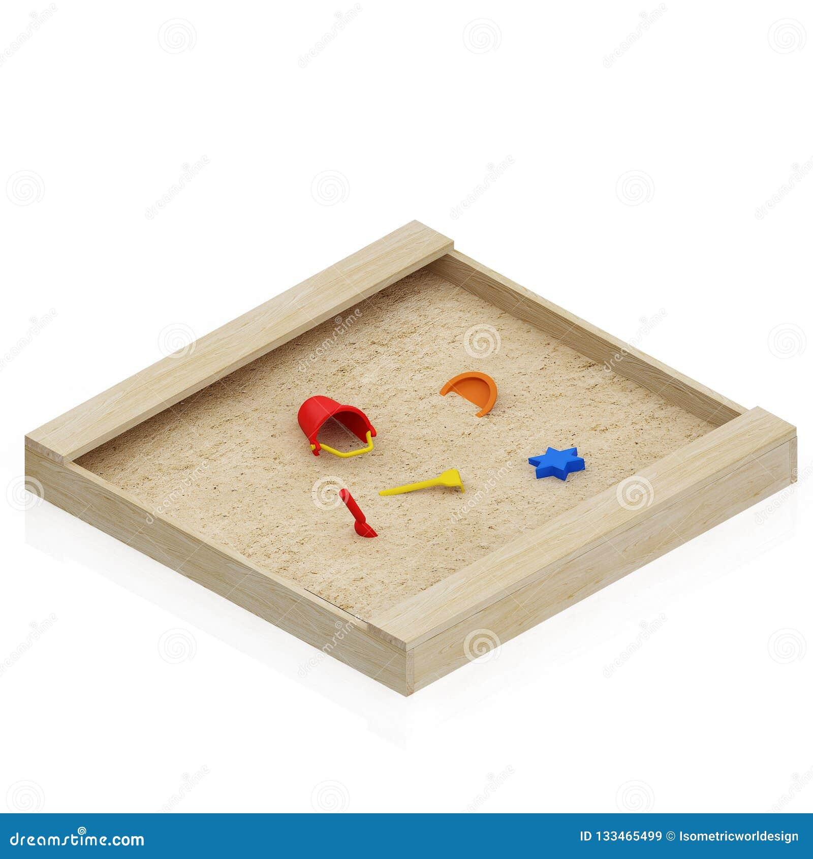 Rendu isométrique de l objet 3D d enfant