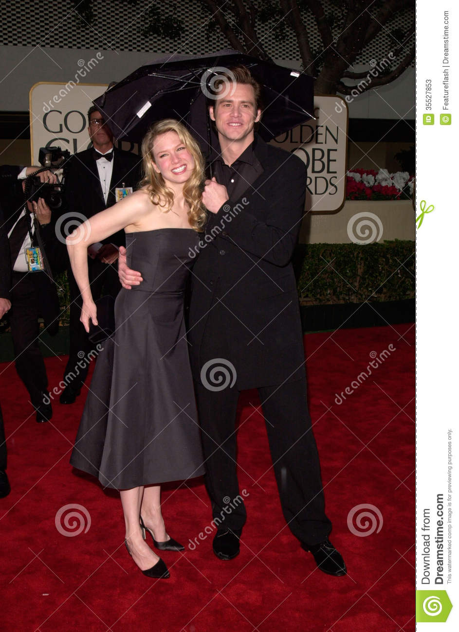 Jim Carrey and Renee Zellweger - Dating Gossip News Photos