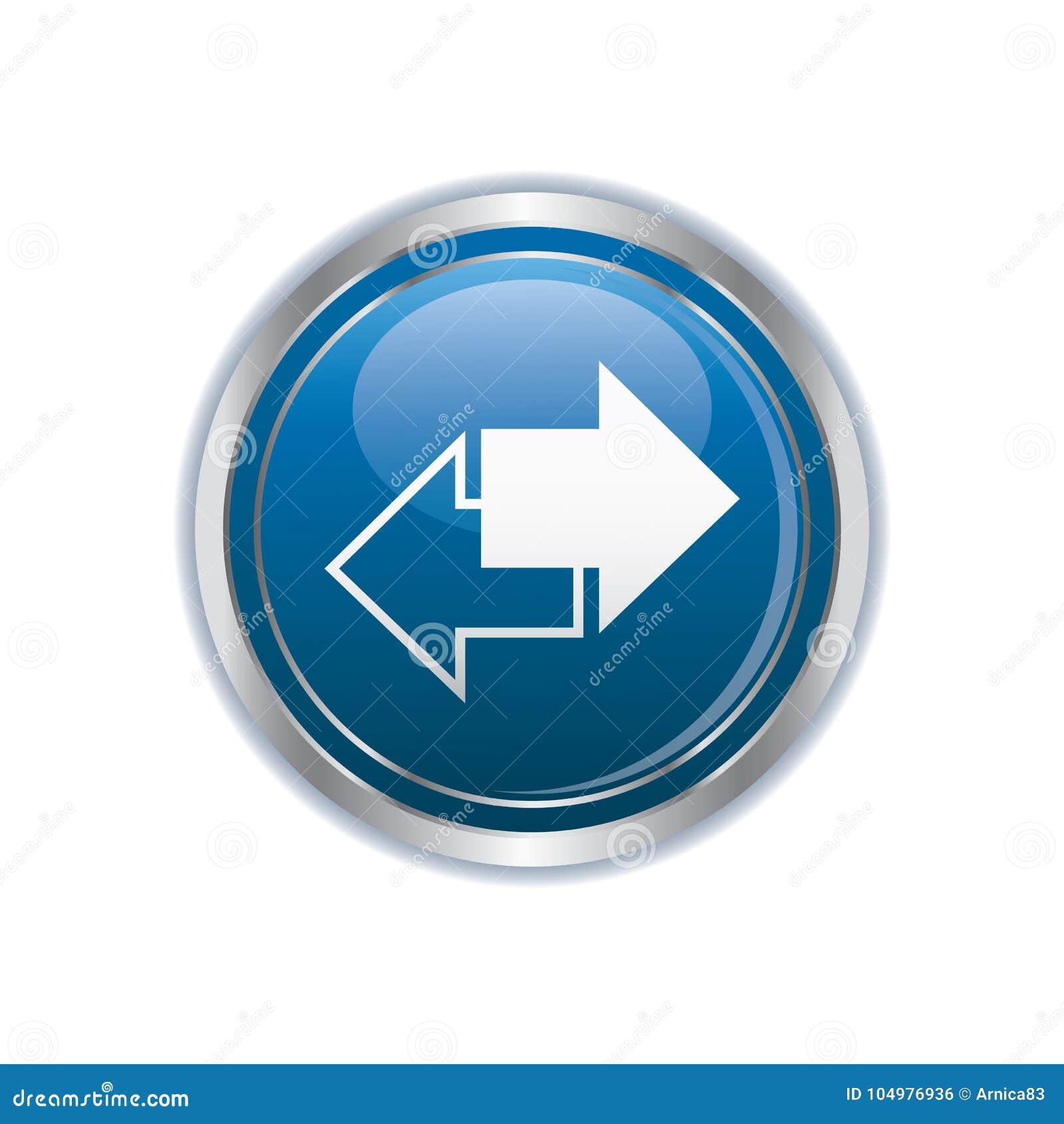 Renew icon on the button
