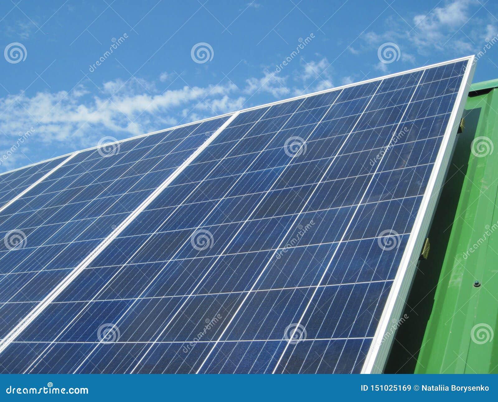 Renewable Energy - Photovoltaic Cells - Solar Panels For