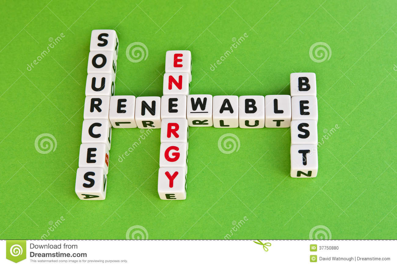 Renewable energy sources best