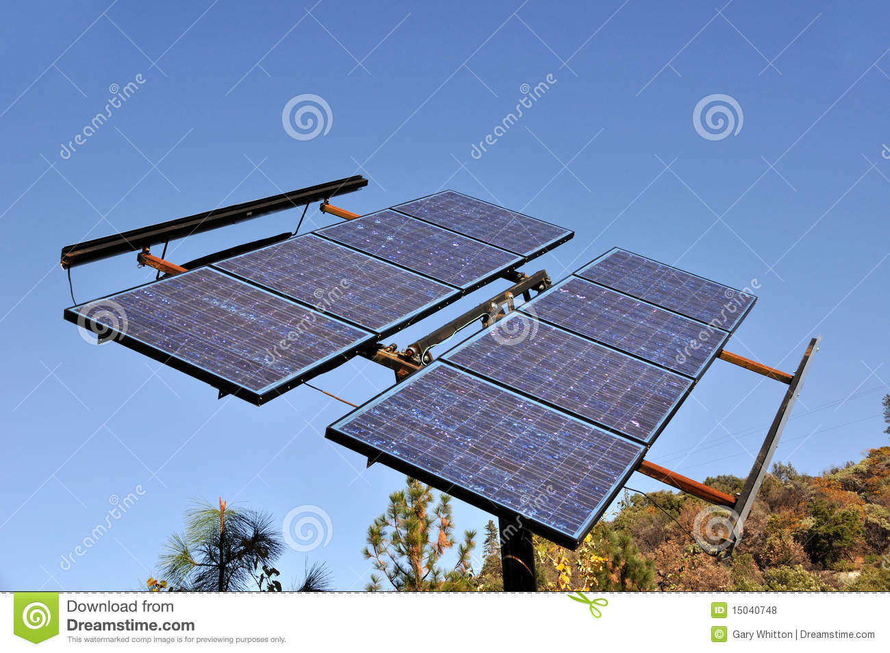 Renewable Solar Power Energy Panel Royalty Free Stock Photos - Image ...